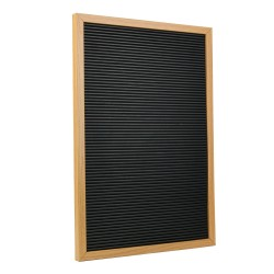 LETTER BOARD 30X45CM CADRE MDF 150 LETTRES M8
