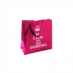 SAC SHOPPING KEEP CALM 45X45X20CM M48