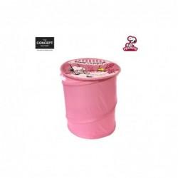 PANIER A JOUET POP UP ROSE M12