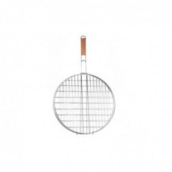 GRILLE DOUBLE BBQ RONDE 40CM M8