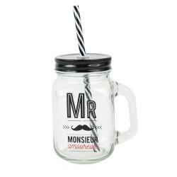 MASON JAR MR AMOUREUX 45CL M12
