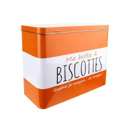 MA BOITE A BISCOTTES RECTANGULAIRE METAL M8