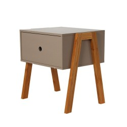 CHEVET EMPILABLE TAUPE M1