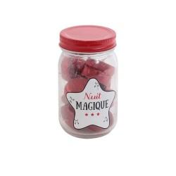 BOUGIE MASON JAR 12 TEALIGHT M12