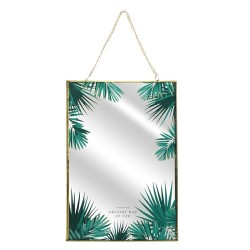DECO MURALE MIROIR JUNGLE 20X30CM M18