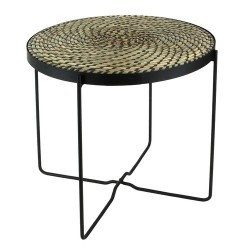 TABLE ETHNICAL LIFE NOIRE M1