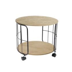 TABLE INDUS RONDE 38X38X33.5CM M1