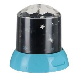 LAMPE VEILLEUSE PROJECTION ETOILES BLEU M12