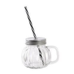 MASON JAR CITROUILLE M18