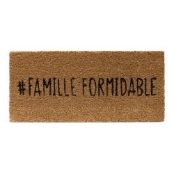 PAILLASSON FAMILLE FORMIDABLE 55X25CM M10