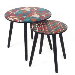 TABLE GIGOGNE WAX BLEU X2 M1