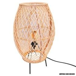 LAMPE A POSER BAMBOU 37X63.5CM M1