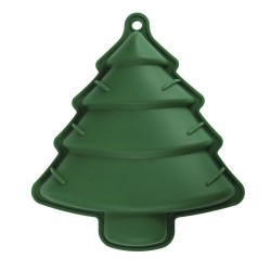MOULE SILICONE SAPIN VERT M18